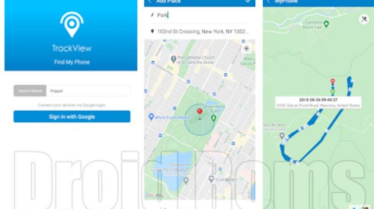 Aplikasi TrackView