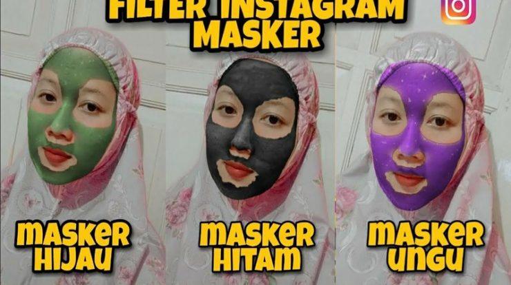 Filter IG Masker Hijau, Nama dan Cara Dapatkan