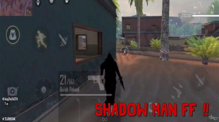 Shadow Man FF, Bug Karakter Jadi Hitam Free Fire