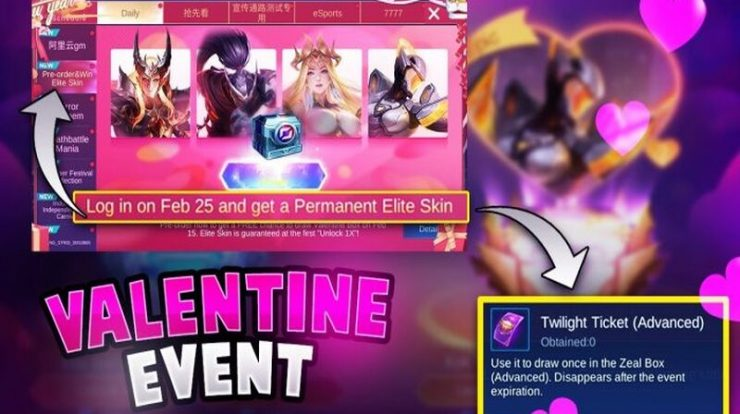 event valentine