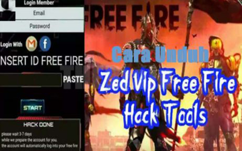 Download Zed VIP Free Fire