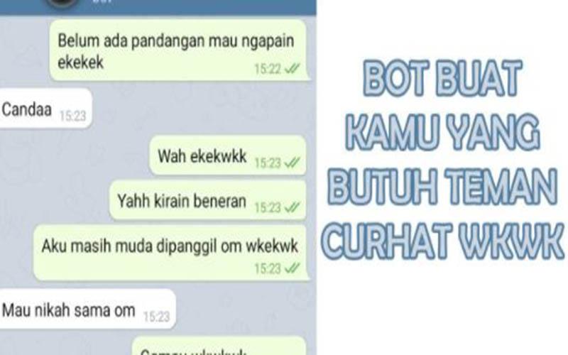 Dapatkan Nama Bot Telegram