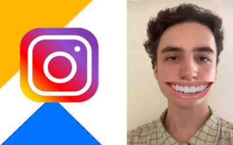 Gunakan Filter Senyum Aplikasi IG