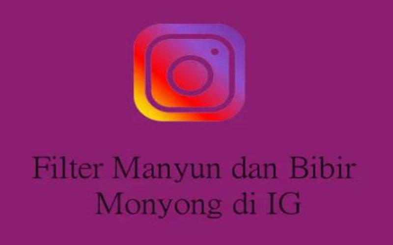 Filter Manyun Aplikasi Instagram