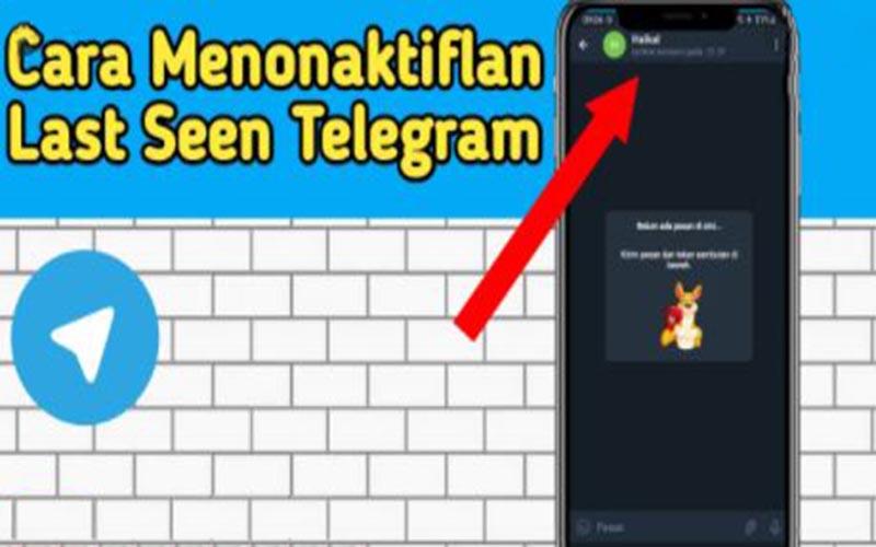 Matikan Last Seen Telegram Mudah