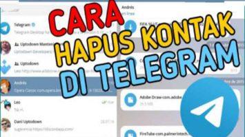 Cara Hapus Kontak Telegram Mudah