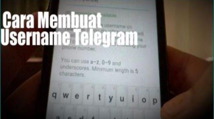 Cara Membuat Username Telegram Mudah!