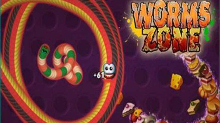 Cara Pasang Worms Zone Mod Apk