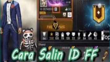Cara Salin Salin ID Free Fire
