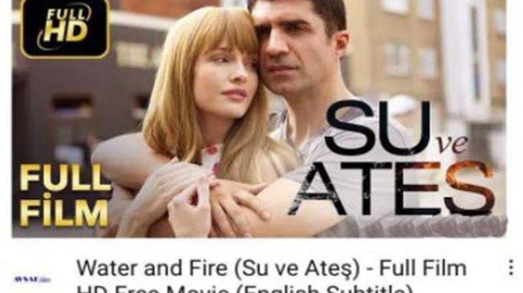 Film water and fire, kisah cinta Yagmur dan Hazmat berakhir tragis