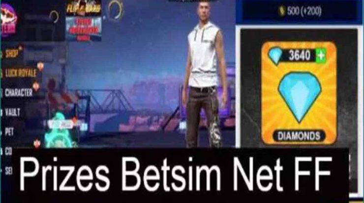 Penjelasan App Betsim Net FF Dapatkan Diamond Juga Hadiah