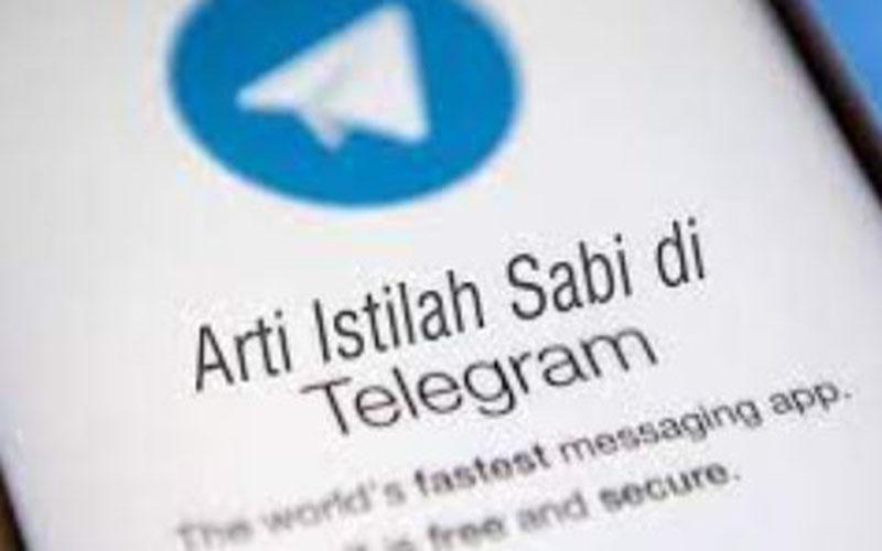 Penjelasan Arti Sabi Di Telegram