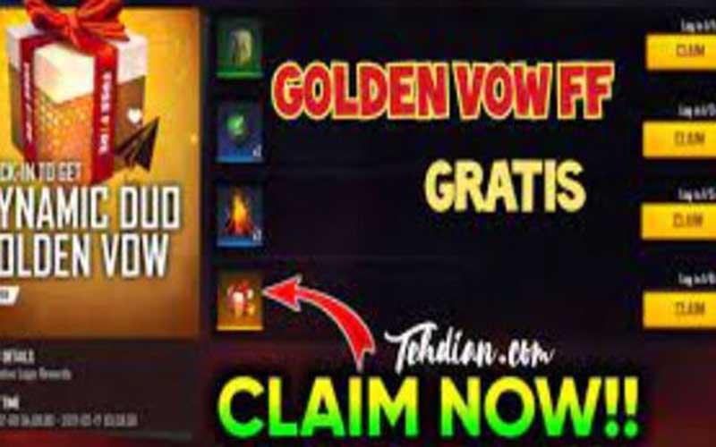 Penjelasan Golden Vow FF Untuk Apa