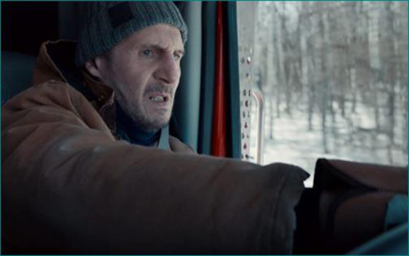 Sinopsis The Ice Road, Kisah Liam Neeson dan Laurence Fishburne Mendapatkan misi