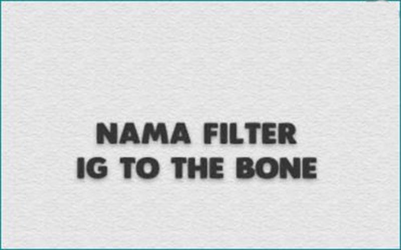 Cara Dapatkan Filter IG To The Bone
