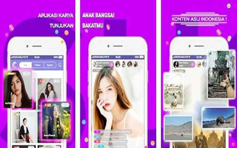 Link Download Sugar Live Mod Apk Terbaru