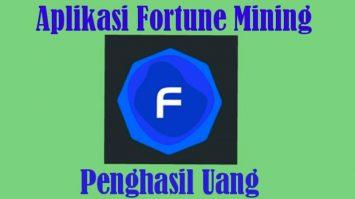 Fortune Mining Apk Penghasil Uang, Aman Atau Penipuan?