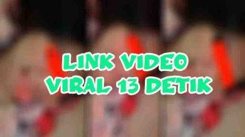 Link video viral 13 detik